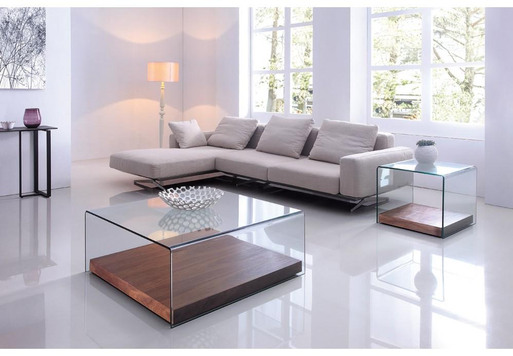 design couchtisch wood cube wohnzimmertisch tisch glas. Black Bedroom Furniture Sets. Home Design Ideas